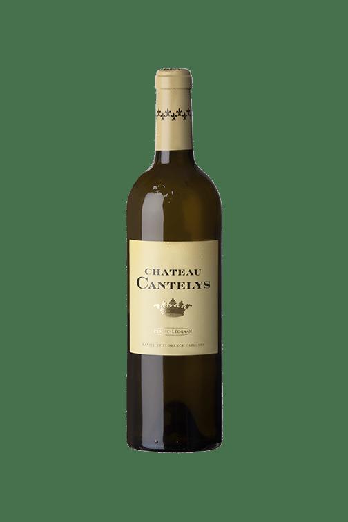 chateau-cantelys-blanc-bouteille-pessac-leognan